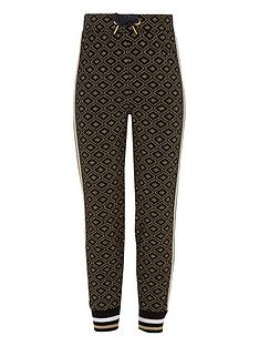 river-island-girls-navy-gold-glitter-printed-joggers
