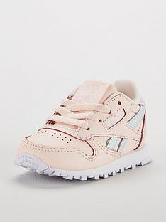 Reebok Classic Leather Infant Trainer 9aba347b2