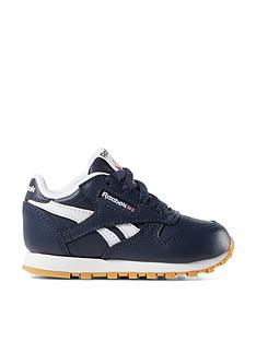 c1191d7daee17 Reebok Classic Leather Infant Trainer