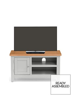 Julian Bowen Richmond Ready Assembled TV Unit - fits up to 38 inch TV