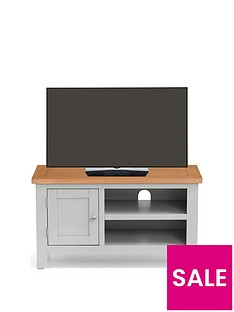 Julian Bowen Richmond Ready Assembled TV Unit - fits up to 40 inch TV