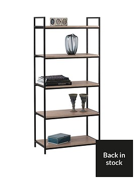julian-bowen-tribeca-tall-bookcase