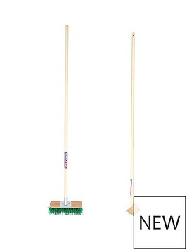 spear-and-jackson-wooden-block-paving-cleaner-and-garden-brush-set