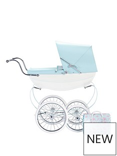 silver-cross-sweet-pea-dolls-pram-with-optional-personalisation
