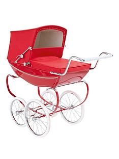 silver-cross-oberon-poppy-red-dolls-pram-personalised
