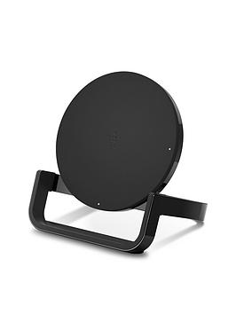 Belkin F7U052 Qi-Enabled 10W Wireless Charging Stand - Black