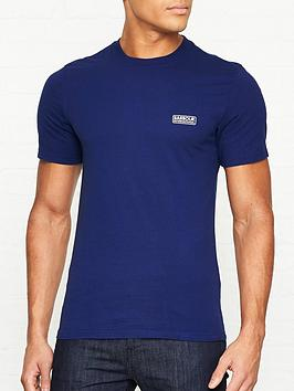 barbour-international-international-small-logo-t-shirt-blue