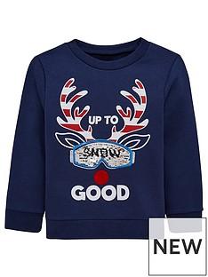 mini-v-by-very-boys-christmas-reindeer-snow-sequin-sweatshirt