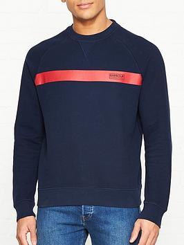 barbour-international-keswick-sweatshirt-navy