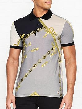 versace-collection-baroque-print-logo-shirtnbsp--grey