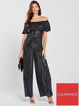 girls-on-film-lurex-bardot-wide-leg-jumpsuit-black