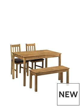 julian-bowen-coxmoor-118cm-dining-table-2-chairs-bench