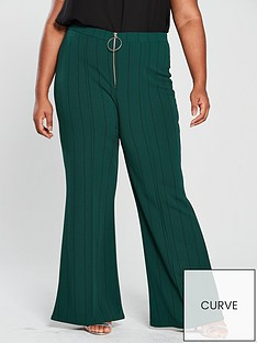 girls-on-film-curve-stripe-wide-leg-trouser-with-zip-up-front-emerald-green
