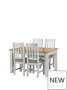julian-bowen-richmond-richmond-140-180-cm-extending-solid-wood-and-veneer-dining-tablenbsp-4-chairs