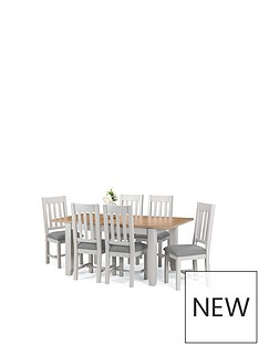 Dining Table Sets Dining Tables 6 Chairs Very Co Uk