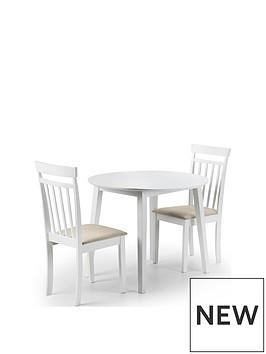 julian-bowen-coast-90cm-drop-leaf-dining-table-2-chairs