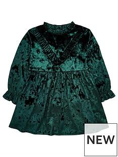 mini-v-by-very-girls-green-velour-party-dress