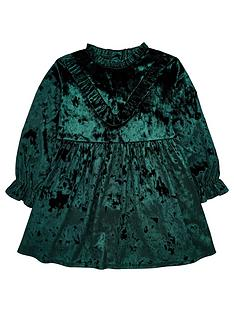 mini-v-by-very-girls-velour-party-dress-green