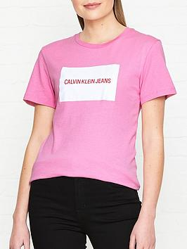 calvin-klein-jeans-institutional-box-logo-slim-fit-t-shirt-pink
