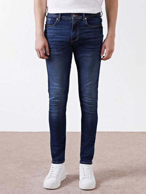 river-island-skinny-fit-jeans-dark-blue