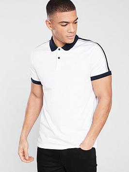 v-by-very-short-sleeved-shoulder-stripe-polo