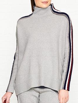 tommy-hilfiger-icons-mock-neck-lurex-stripe-jumper-grey