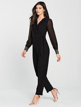 wallis-geo-cuff-hotfix-jumpsuit-blacknbsp
