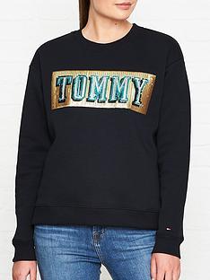 tommy-hilfiger-hanna-sequin-logo-sweatshirt-black