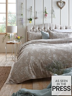 ideal-home-wild-blooms-jacquard-duvet-cover-set