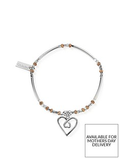 chlobo-limited-edition-rose-sterling-silver-entwined-heart-bracelet