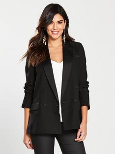 warehouse-double-breasted-tuxedo-jacket-black