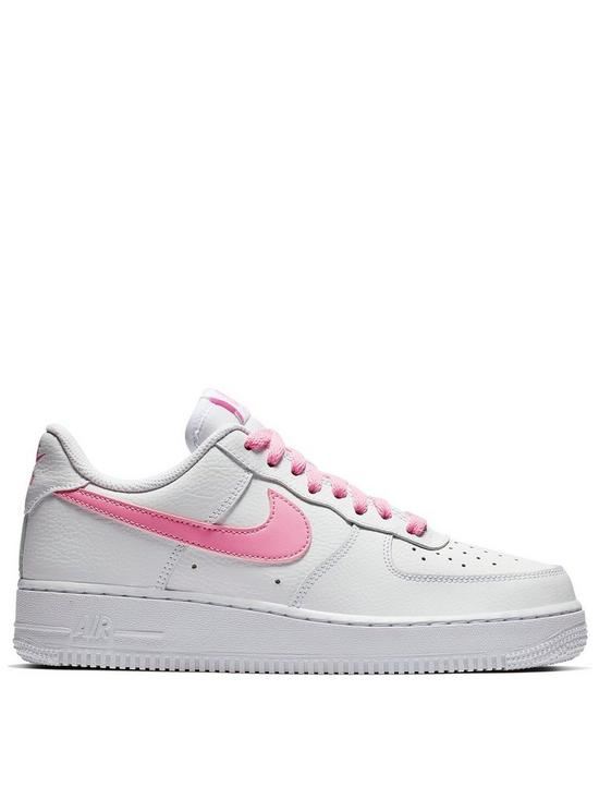 sale retailer ca3a4 d9588 Nike Air Force 1  07 Essential - White Pink