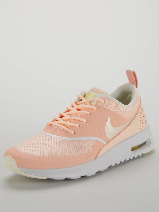 brand new 83d27 33900 Nike Air Max Thea - Pink White   very.co.uk