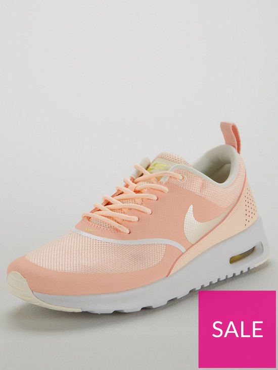 205a0429f2be1 Nike Air Max Thea - Pink/White | very.co.uk