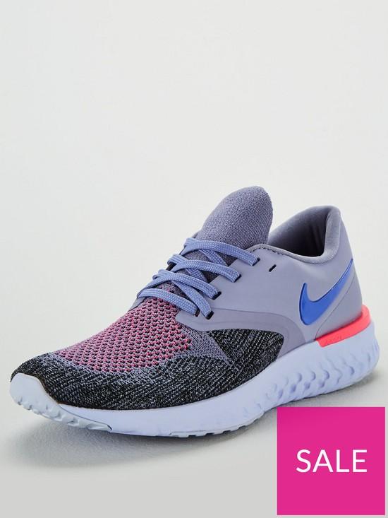 03a59185881b9 Nike Odyssey React 2 Flyknit - Purple | very.co.uk