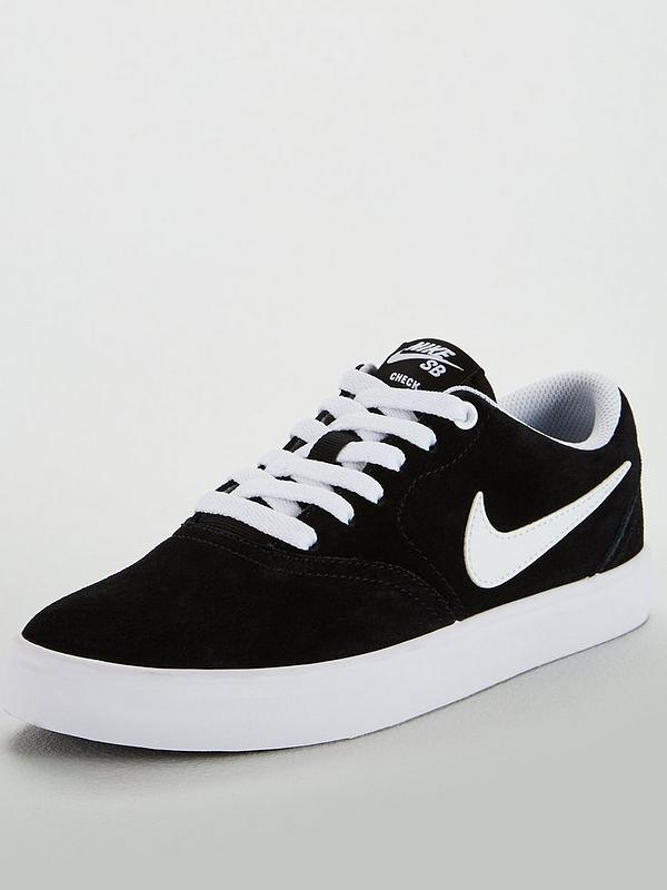 new concept new high factory outlets Sb Check Solar - Black/White