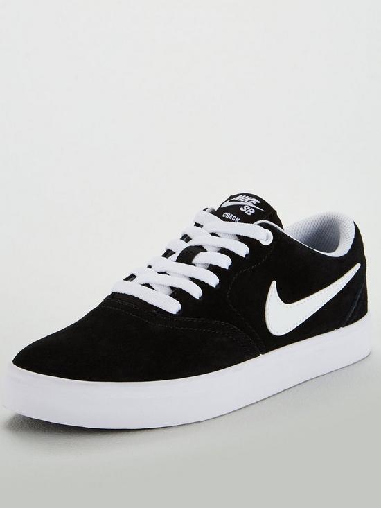 new product 02477 4be09 Nike Sb Check Solar - BlackWhite