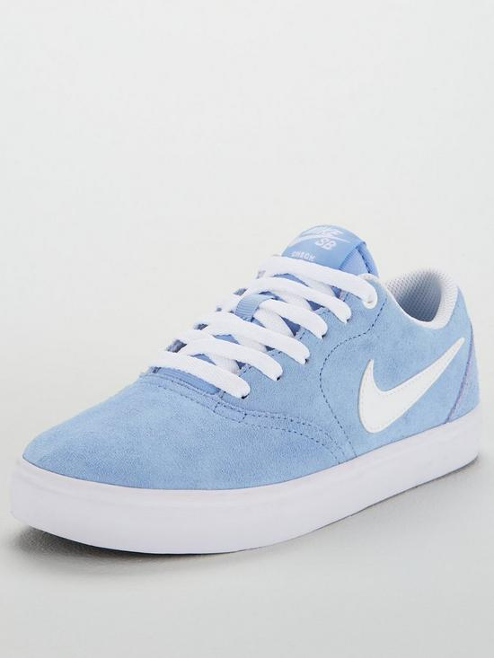 516445bc41d9 Nike SB Check Solar - Blue White