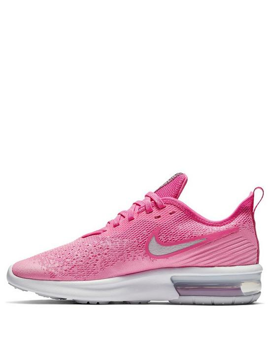 47ce594242 Nike Air Max Sequent 4 - Pink/White | very.co.uk