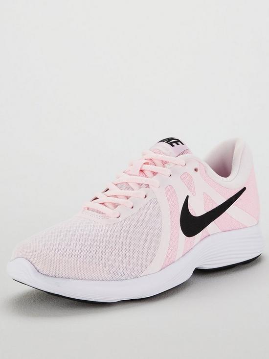 dd8fc92cda3 Nike Revolution 4 - Pink/Black | very.co.uk