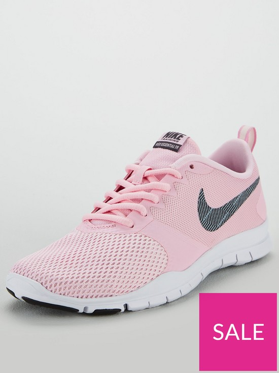 22aa828f23 Nike Flex Essential TR - Pink/White | very.co.uk