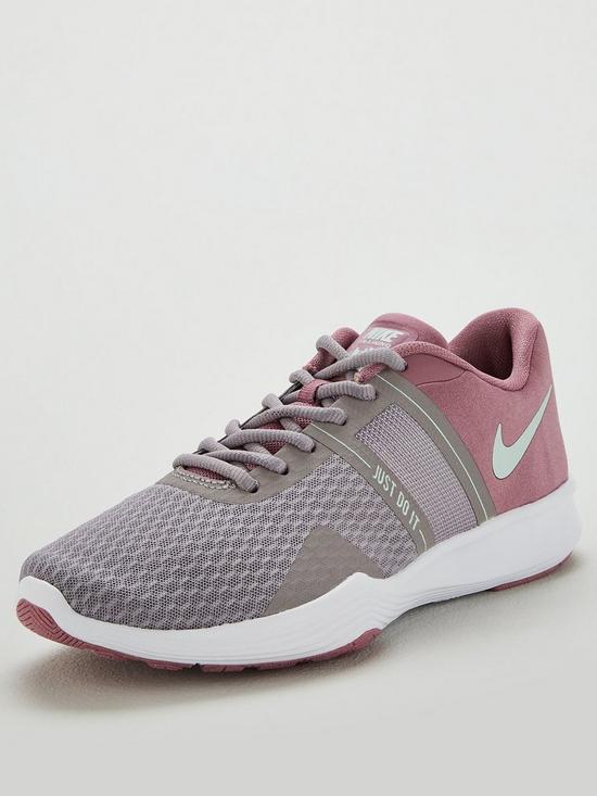 2958eea97743 Nike City Trainer 2 - Pink Grey