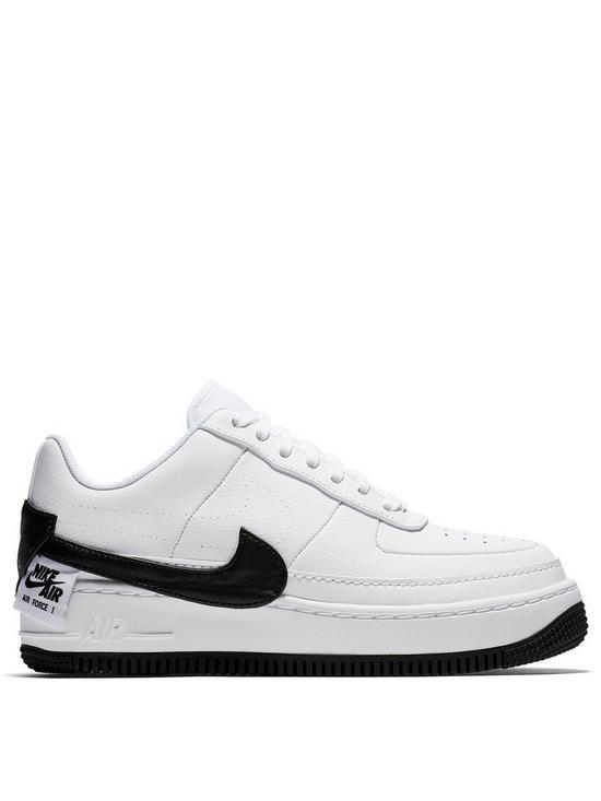 64d857f02b0b6 Nike Air Force 1 Jester XX - White/Black | very.co.uk