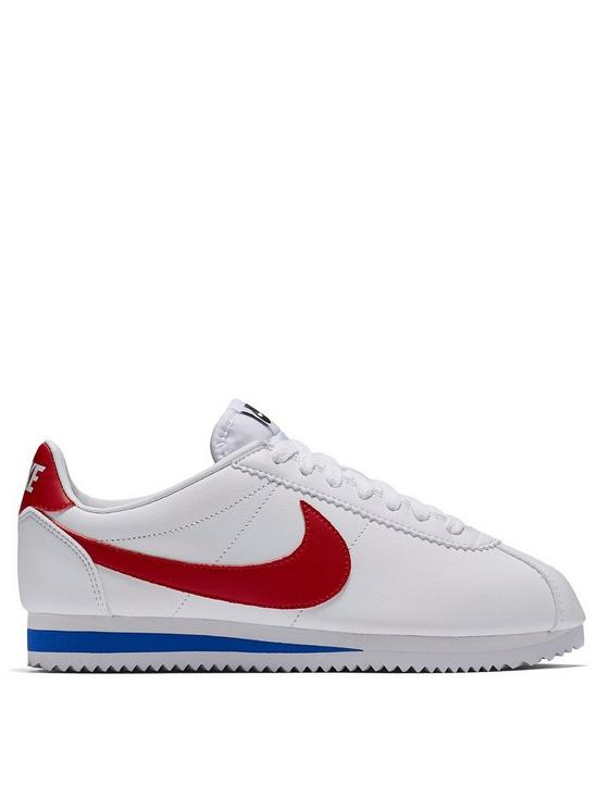 promo code 9a2b1 4bab6 Classic Cortez Leather - White