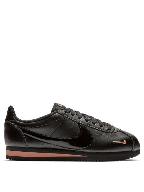 d1e7616f121c0f Nike Classic Cortez Premium - Black Gold