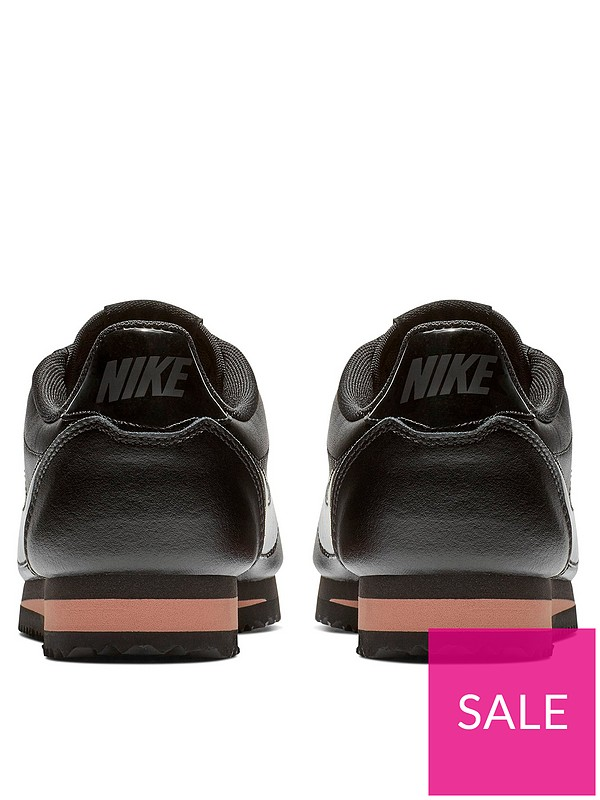 0700bc071 Nike Classic Cortez Premium - Black/Gold | very.co.uk