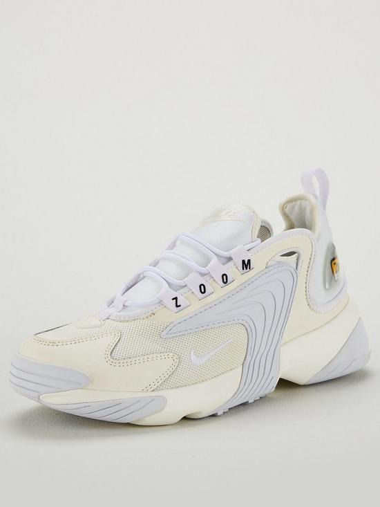 95a4c838620f Nike Zoom 2K Trainers - Off White
