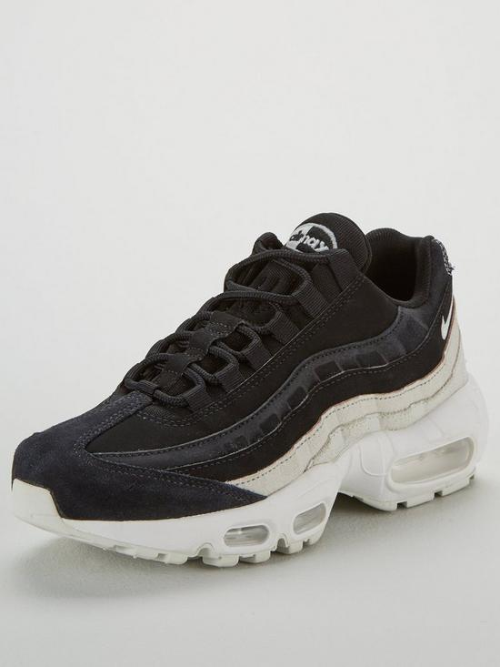 367568a420 Nike Air Max 95 Premium - Black | very.co.uk
