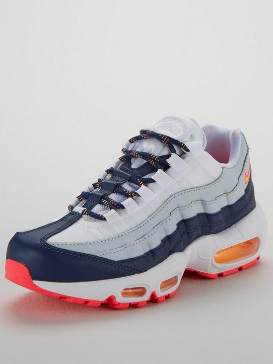 premium selection d1bc9 d50d2 Nike Air Max 95 - Navy Orange