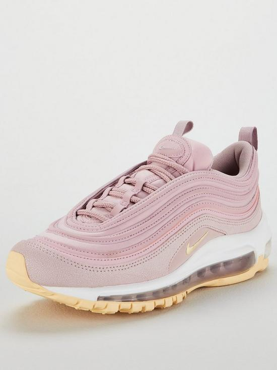 af5c9b150005f Nike Air Max 97 Premium - Pink/White | very.co.uk